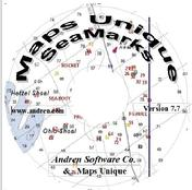 The CD/DVD label of Maps Unique on SeaMarks